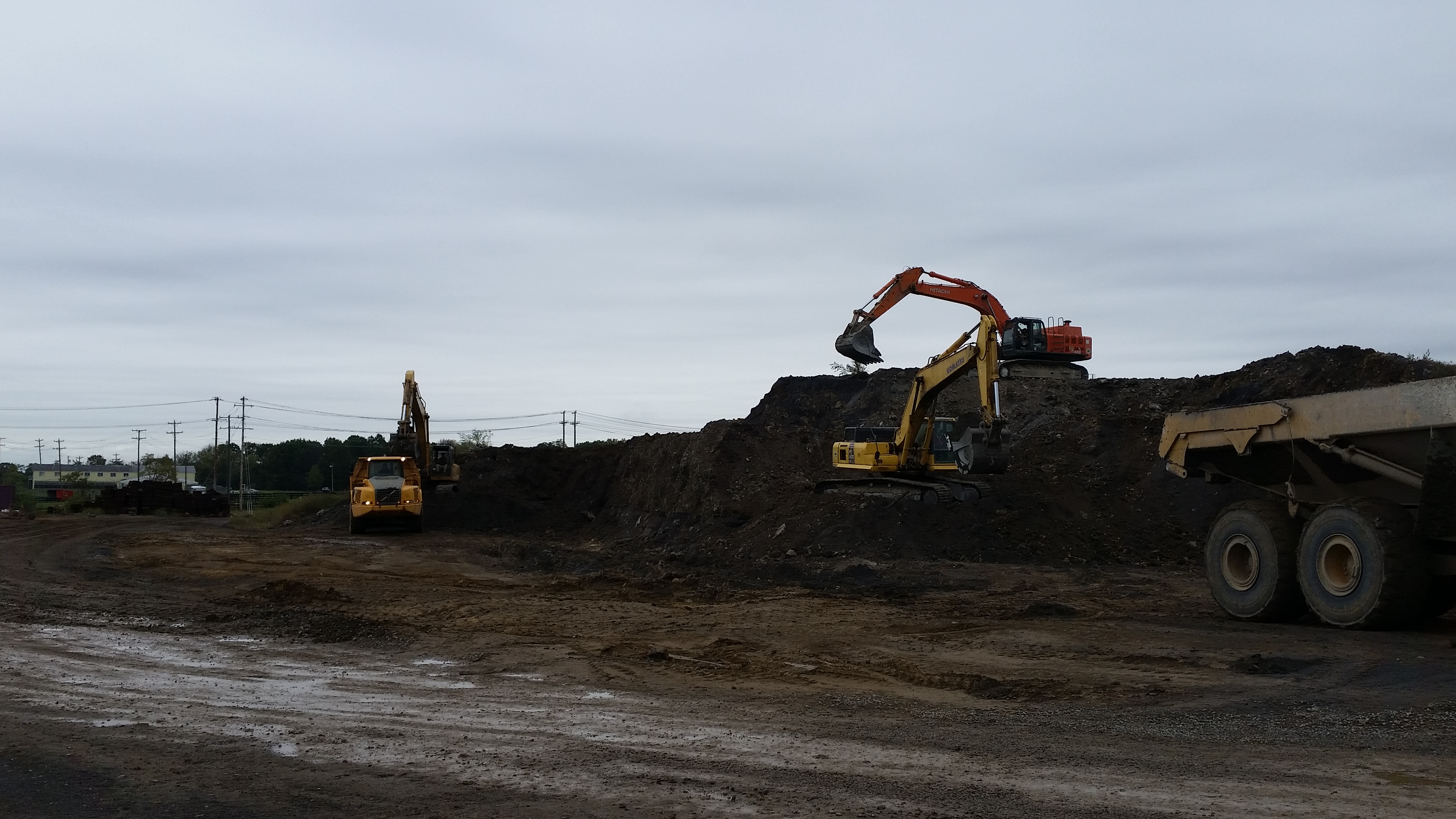 Stripping, Rail Spur and Misc Excavation
