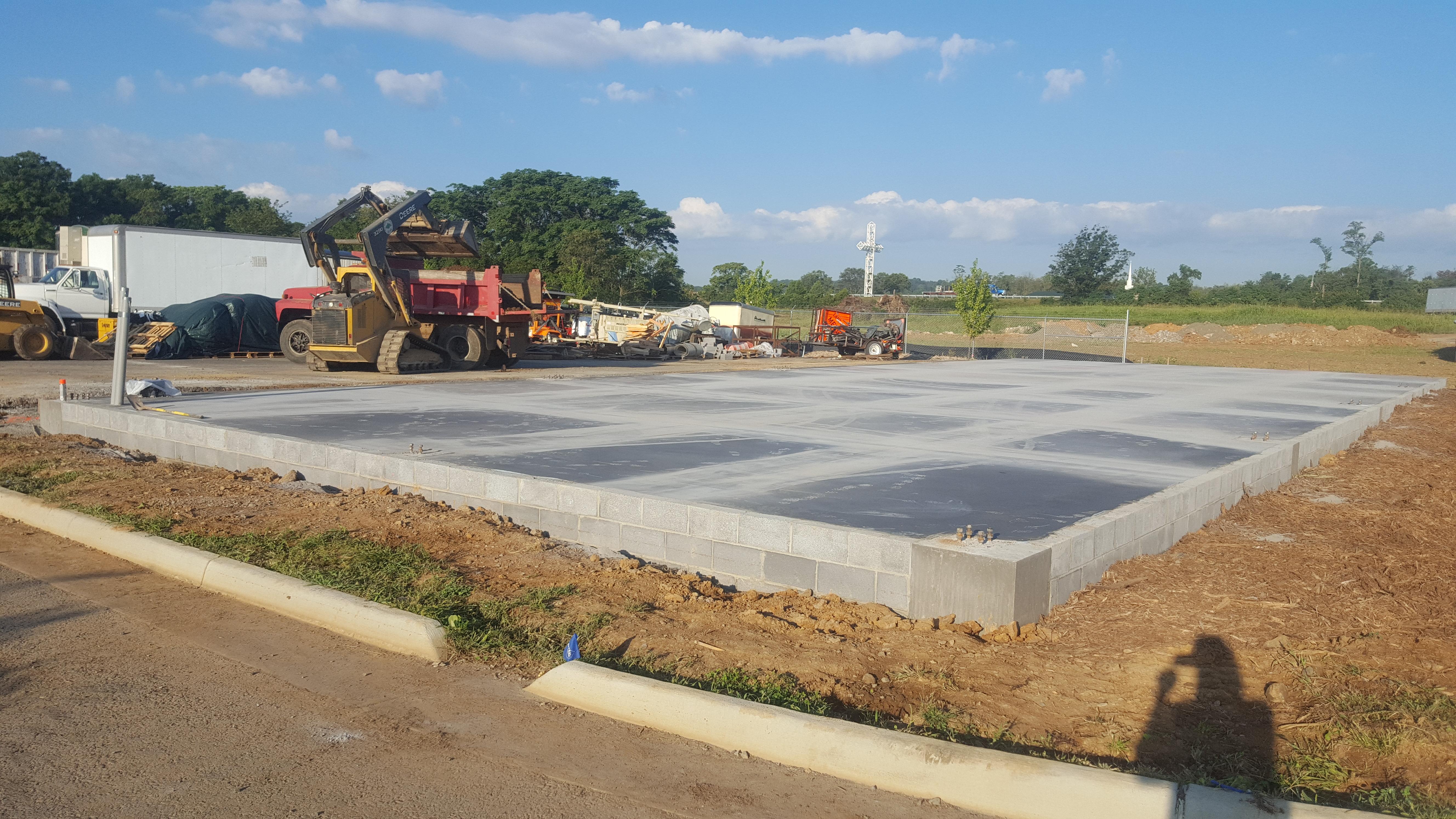 Pine Knoll Construction's 40′ x 100′ Pre-Engineere…